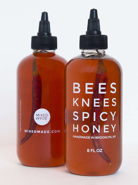 Piquant Honey Condiments - MixedMade's Spicy Honey Combines Sweet with Chili Peppers