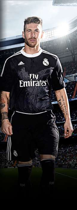 Dragon-Adorned Soccer Jerseys - The New Real Madrid Third Kit Features a Dual Dragon Design