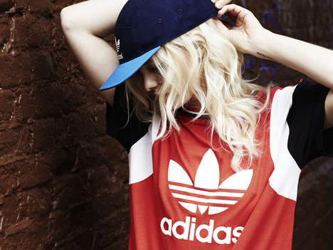 Vivid Sportswear Collections - The Adidas Originals Women's Colourblock Capsule Collection is Bold