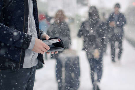 All-Weather Wallets - The Elements Range by Bellroy Protects Against Rain, Snow, Sand & Grit