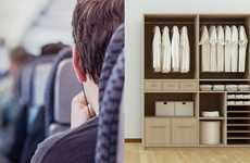 Luggage-Free Travel Services - Packnada Lets Frequent Fliers Travel Light By Storing Clothing