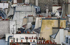 Condensed Rooftop Captures - Photographer Michael Wolf Focuses on the Roofs of Paris