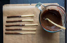 Homemade Japanese Biscuits - This Pocky Recipe Teaches You How to Make the Chocolate Cookies at Home