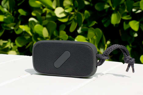 Sand-Proof Bluetooth Speakers - The Super-M Bluetooth Speaker is Water-Resistant and Sand-Resistant