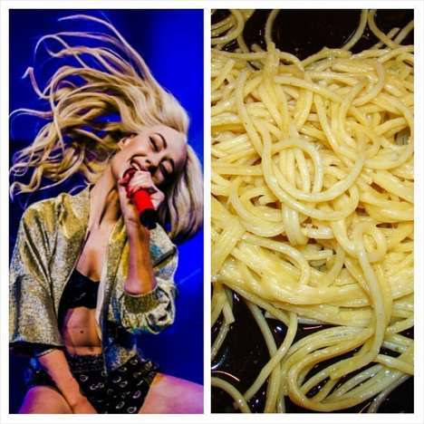 Rapper Comparison Food Blogs - This Artistic Iggy Azalea tumblr Blog Compares Her to Food Items