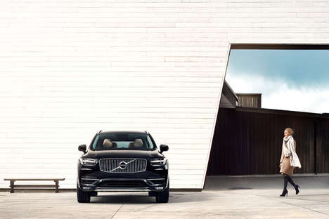 Auto-Braking Cars (UPDATE) - The New XC90 SUV from Volvo is Fully Equipped with Technology