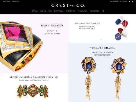 Luxurious Legacy Retailers - Crest and Co. Aims to Revive the Art of Understated Elegance