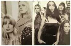 Sprawling Supermodel Editorials - The Vogue Italia Cover Story Photoshoot Shows Multiple Supermodels