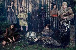 The Vogue Japan Into The Woods Editorial Takes Viewers Into Forests