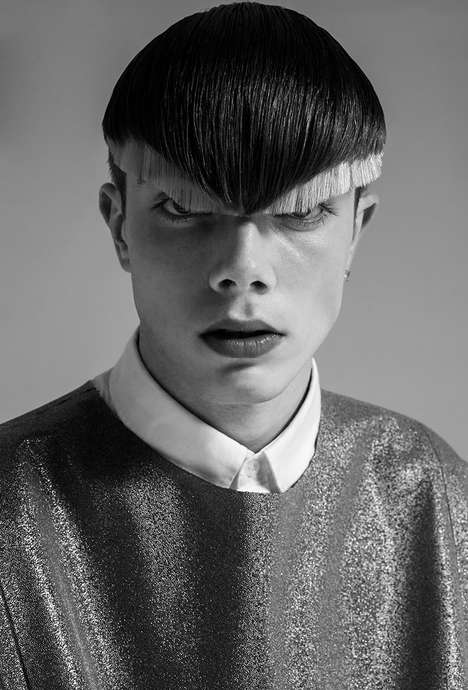 Vanguard Haircut Editorials - F****** Young! Online's Boy You Are a Star Story is Youthfully Styled