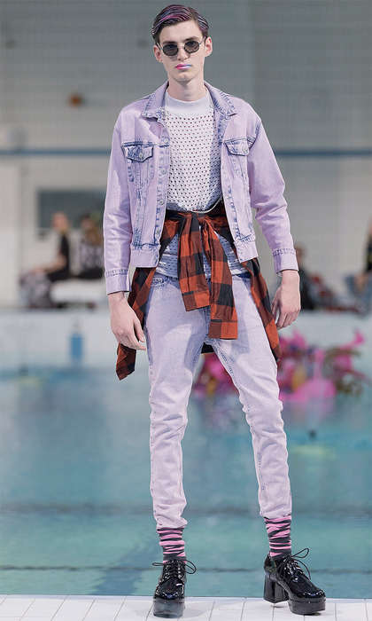 Rugged Seapunk Streetwear - Cheap Monday's Latest Menswear Collection References Youth Culture