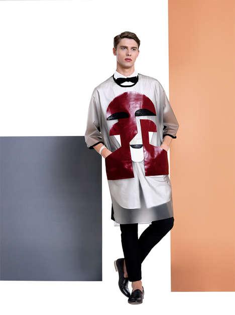 Conceptual Statement Tee Catalogs - Mai Gidah's Latest Lookbook Features Artful Sportswear Styles