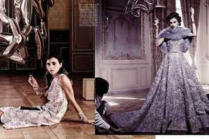 The Vogue Italia So Precious Photoshoot Displays Party Balloons