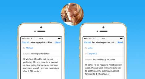 Meeting Scheduling Robots - x.ai's Personal Assistant AI Robot Schedules Meetings For You