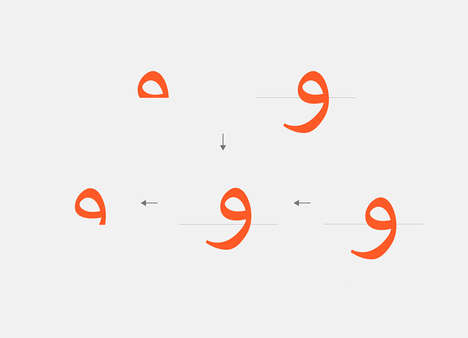 Language-Uniting Typefaces - The Aravrit Typeface Brings Together Hebrew and Arabic