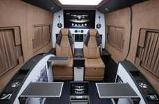 Opulent Business Vans - The Brabus Business Lounge is a Conference Room on Wheels