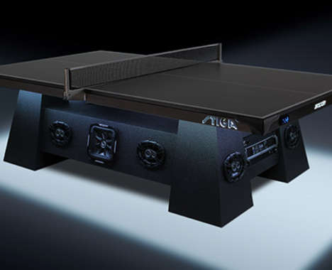 Multimedia Ping Pong Tables