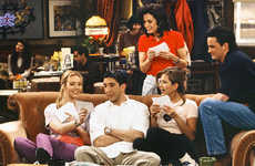 Sitcom-Celebrating Cafes - The Real Life Central Perk Pop-Up Shop Commemorates 2 Decades of Friends