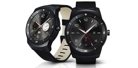 Circular-Face Smartwatches - The LG G Watch R Has a Round Face and Large Display