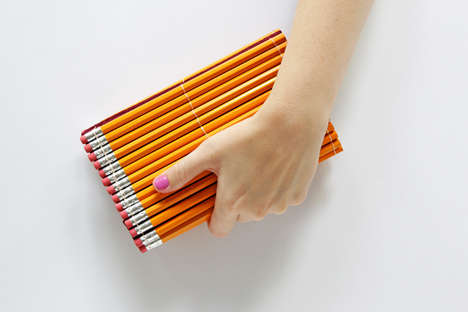 School Supply Clutches - The DIY Pencil Clutch is Perfect for Those Heading Back to School