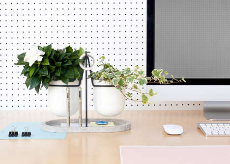 Foliage-Friendly Organizers - Fabrica Designed a Desk Organizer with the Plant Lover in Mind