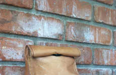 Leather Lunch Bags - These Reusable Lunch Bags Stylishly Keep Your Lunch Cool
