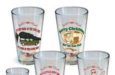 Cinematic Family Cups - These National Lampoon Christmas Vacation Glasses are Perfect for Holidays