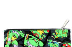 Masked Turtle School Supplies - Shop Jeen's Teenage Mutant Ninja Turtles Pencil Case is Nostalgic