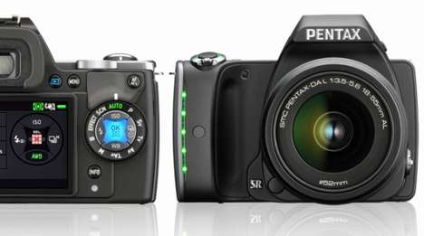 Light-Embedded Cameras - The Pentak K-S1 is Embedded With Futuristic LED Lights