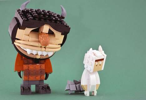 LEGO Film Personas - These Creative LEGO Movie Characters are Made Entirely Out of Toy Blocks