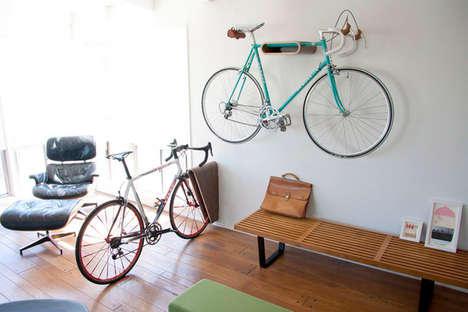 17 Bicycle Storage Solutions - From Minimalist Cycle Storage to Levitating Bicycle Racks