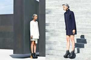 Glassbook Magazine's Logical Fashion Story Epitomizes Elegance