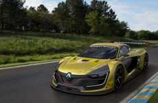Road-Hugging Racecars - The Renault Sport RS 01 Has a Lightweight Carbon Fiber Chassis