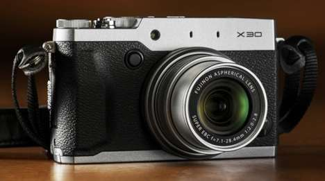Compact Upgraded Cameras - The Fujifilm X30 Camera Has an Electronic Viewfinder