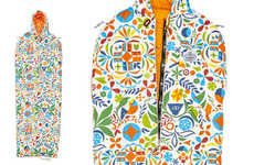 Psychedelic Camping Gear - The Poler Rainbro Collection Has Rainbow-Colored Tents & Sleeping Bags