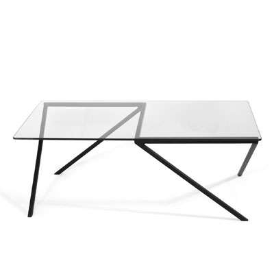 Geometric Minimalism Furnishings - Faktura's ANGLES Coffee Table Features a Sharp-Edged Design Style