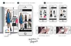 Shoppable Video Campaigns - Elle Canada's Shop Your Mood Campaign Makes It Easy to Buy from the Bay
