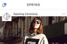 Impulse Shopping Apps - Spring is an App for Shopping New Arrivals from Brands Instantly