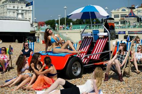 36 Summer Marketing Campaigns - From Sun-Activated Coupons to Flip Flop Vending Machines