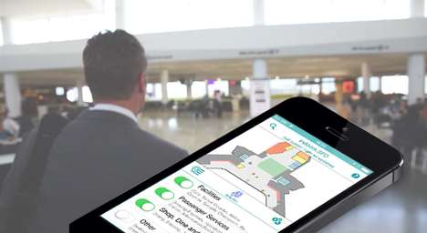 Beacon Airport Navigation - The indoo.rs Indoor Navigation at SFO Helps Blind Travelers Get Around