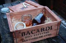 Rustic Rum Branding