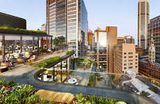 Cascading Rooftop Architecture - The 333 George Street Development Screams Luxury