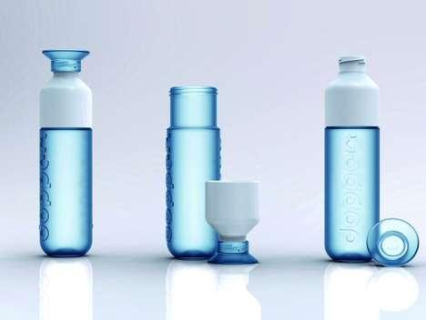 50 Alternative Canteens - From Sleek Water Bottle Shakers to Brewing Water Bottles