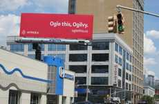 Unmissable Targeted Ads - Ogilvy & Mather Can't Avoid Intridea's Advertising Billboard