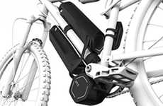 E-Bike Transforming Gadgets - The Virtus Electric Bicycle Drive Converts Regular Bicycles to E-Bikes