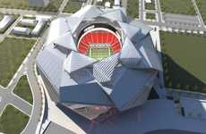 Shutter-Shaped Stadiums - The New Atlanta Stadium Will Have an Eight-Piece Retractable Roof