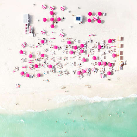 Aerial Costal Captures - These Bird's Eye View Beach Pictures Offer a New Perspective to the Ocean