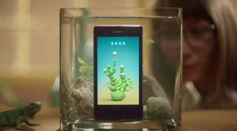 Underwater Mobile Apps - These Underwater Apps Show Off the Capabilities of the Sony Xperia Z1S
