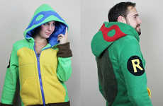 These Teenage Mutant Ninja Turtle Cosplay Hoodies are Perfect for Fall