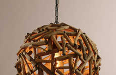 42 Spherical Home Decor Designs - From Spherical Spaceship Lighting to Spherical Home Heating